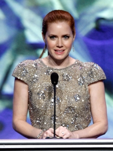 Amy Adams presents the Dramatic Night Series Directing award at the 2009 DGA Awards
