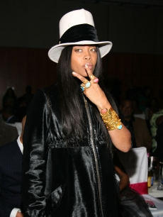 Erykah Badu attends the 3rd Annual Black Girls Rock! Awards at Jazz at Lincoln Center on November 2, 2008 in New York City