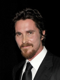 Christian Bale poses backstage during the 35th Annual People's Choice Awards held at the Shrine Auditorium on January 7, 2009 in Los Angeles, California