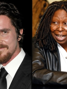 Christian Bale, Whoopi Goldberg