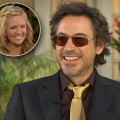 Robert Downey Jr. and Nancy O'Dell