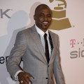 Wayne Brady looking sharp in grey at the Clive Davis pre-Grammy party