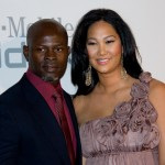 Djimon Hounsou and girlfriend Kimora Lee Simmons