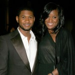 Usher and Tameka Foster at the 2007 NAACP Theater Awards in LA