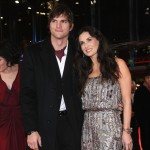 Demi Moore and Ashton Kutcher attend the premiere for &#8216;Happy Tears&#8217; as part of the 59th Berlin Film Festival