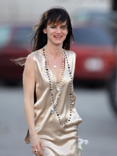 Juliette Lewis on location for &#8216;Sympathy For Delicious&#8217; on February 3, 2009 in Los Angeles