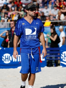 Brody Jenner at the 2009 DirecTV Celebrity Beach Bowl in Florida