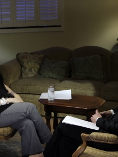 Octuplet mom Nadya Suleman is interviewed by NBC News' Ann Curry