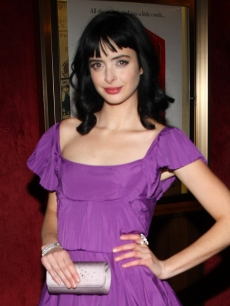 Krysten Ritter at the New York premiere of &#8216;Confessions of a Shopaholic&#8217;