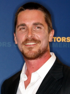 Christian Bale at the DGA Awards, Jan. 2009