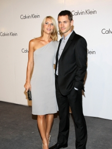 Claire Danes and Hugh Dancy at the Calvin Klein 40th anniversary during New York Fashion Week (Sept. 2008)
