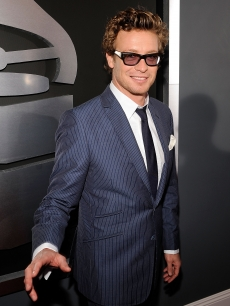 Simon Baker arrives at the 51st Annual Grammy Awards held at the Staples Center on February 8, 2009 in Los Angeles, California