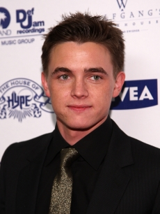 Jesse McCartney arrives at House of Hype and Antonio &#8216;L.A.&#8217; Reid&#8217;s post Grammy Party on February 8, 2009 in Beverly Hills, California.