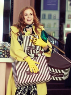 Isla Fisher in 'Confessions of a Shopaholic'
