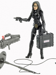 Sienna Miller's 'The Baroness' action figure from 'G.I. Joe: The Rise of Cobra'