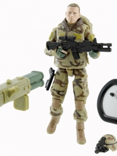 Channing Tatum's 'Duke' action figure from 'G.I. Joe: The Rise of Cobra'
