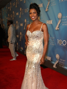 Reality star Omarosa Manigault-Stallworth shines on the NAACP red carpet
