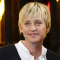 Ellen DeGeneres backstage at the 2009 People's Choice Awards