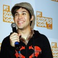 Pete Wentz from the band Fall Out Boy answers questions during the announcement of the nominations for the Vodaphone MTV Australia Awards 2009 at the MTV Gallery on February 19, 2009 in Sydney