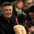 Alec Baldwin chats with fans inside the 24th Annual Film Independent's Spirit Awards