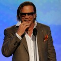 Mickey Rourke takes home Best Actor at the 24th Annual Film Independent's Spirit Awards