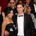 Vanessa Hudgens and Zac Efron get close on the red carpet at the 2009 Oscars