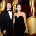 Brad Pitt and Angelina Jolie arrive at the 81st Annual Academy Awards held at Kodak Theatre