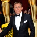 A dapper Daniel Craig on the 2009 Oscars red carpet