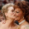 Meryl Streep and Sophia Loren arrive for the 81st Academy Awards