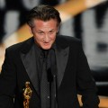Sean Penn accepts his Best Actor award for 'Milk' during the 81st Annual Academy Awards held at Kodak Theatre on February 22, 2009 in Los Angeles, California
