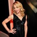 Madonna attends the 2009 Vanity Fair Oscar party hosted by Graydon Carter at the Sunset Tower Hotel