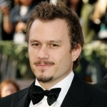 Heath Ledger on the red carpet of the 2006 Academy Awards