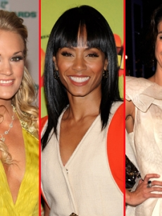 Carrie Underwood, Jada Pinkett Smith and Teri Hatcher
