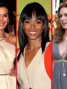 Teri Hatcher, Jada Pinkett Smith and Jenna Fischer