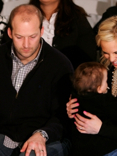 The Hasselbeck family enjoys a show at New York Fashion Week