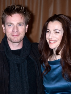 Ewan McGregor and Ayelet Zurer at the 'Angels And Demons' photocall in Rome, Italy