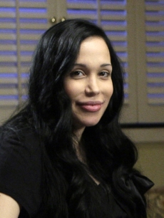 Nadya Suleman during her interview with NBC's Ann Curry