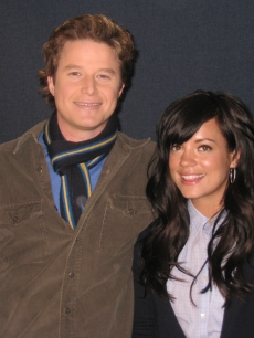 Billy Bush and Lily Allen, Feb. 16, 2009