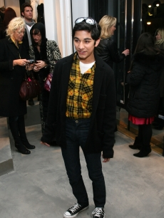Mark Indelicato poses at Payless at Alice + Olivia Fall 2009 show during Mercedes-Benz Fashion Week at the Alice + Olivia boutique on February 16, 2009 in New York City
