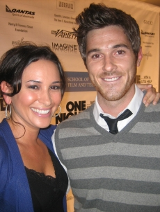 Laura catches up with 'Brothers and Sister's' Dave Annable at  'One Night Only' at UCLA's Royce Hall