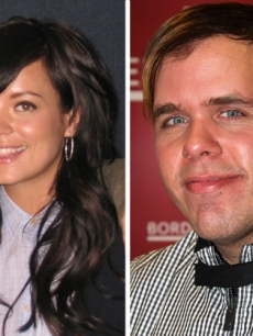Lily Allen, Perez Hilton