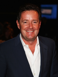 Piers Morgan arrives at the Brit Awards 2009 at Earls Court on February 18, 2009 in London, England