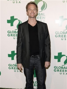 Neil Patrick Harris arrives at Global Green's pre-Oscar party in LA