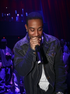 Ludacris takes the stage at LAX Nightclub in Las Vegas