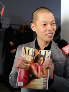 Designer Jason Wu attends his Fall 2009 at Exit Art on February 13, 2009 in New York City