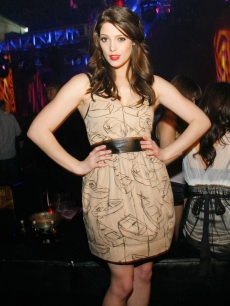 'Twilight' star Ashley Greene celebrates her birthday at Prive Las Vegas