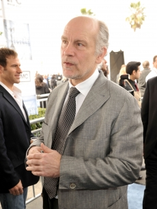 A puzzled John Malkovich at the 24th Annual Film Independent's Spirit Awards in Santa Monica