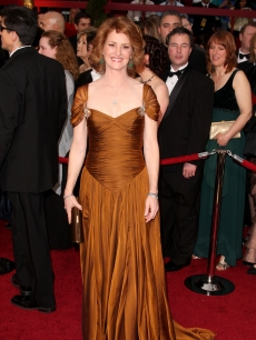 Melissa Leo arrives at the 81st Annual Academy Awards