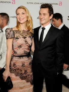 Claire Danes and actor Hugh Dancy attend the 17th Annual Elton John AIDS Foundation Oscar party held at the Pacific Design Center on February 22, 2009 in West Hollywood, California