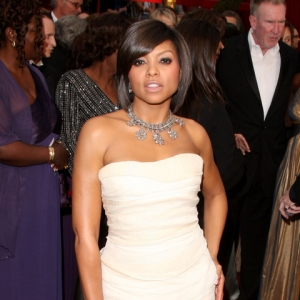 Oscars Red Carpet 2009: Taraji P. Henson Talks 'Benjamin Button'